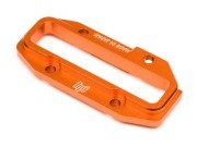 Hpi 100887 platine superrieure alu orange