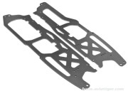 Hpi 8700100902 chassis principal 2.5mm flux