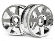 Hpi 103679 jantes v7 chrome 42x83mm s2