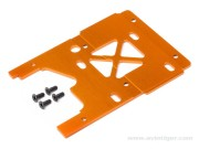 Hpi 105896 plaque moteur 2.5mm orange