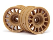 Hpi 107971 jantes wr8 rally 48x33mm bronze s2