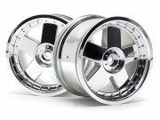 Hpi 3007 jante gt5 chrome 83x56mm (s2)