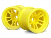 Hpi 3054 jante 5 branches truck jaune