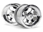 Hpi 3117 jante 6 branches chrome sav. s2