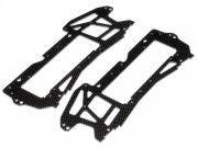 Hpi 73117 chassis carbone 2.5mm e-savage