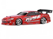 Hpi 7720 Carrosserie toyota soarer rouge 200mm