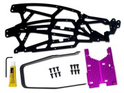 Hpi 87248 kit chassis savage carb rabaisse