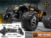HPI Jumpshot Mt brushed + radio 2.4ghz (Complet) Hpi