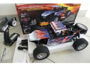 RC System RC709D Buggy Marauder 1/10 4x4 brushed RTR COMPLET