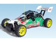 Cen Matrix 1/5 4X2 + moteur 30cm3 + radio 2.4Ghz (complet) Cen Racing