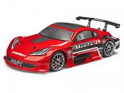 Voiture RC Piste Strada TC 1/10 4x4 Brushless Rouge Complète