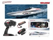 Offshore Traxxas Blast + radio + accus + chargeur RTR
