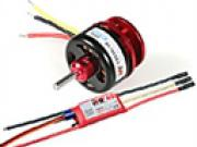 moteur cdr cd3530/10 1400kv 340w + controleur ray 40a bec RC System