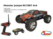 monster truck jumper 4x4 brushed complet (rtr avec radio accus et chargeur)
