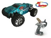 RC System RC712B Voiture Scrapper bleue 1/10 4x4 brushed RTR