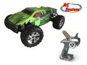 RC System RC712G Voiture Scrapper verte 1/10 4x4 brushed RTR