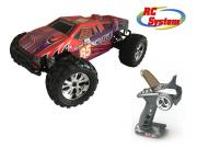 RC System RC712R Voiture Scrapper rouge 1/10 4x4 brushed RTR