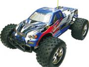 monster truck 1/10 4x4 brushless complet (moteur+vario+radio 2.4+accus+chargeur)
