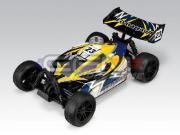 Thunder Tiger T6195F82 Tomahawk BX BUGGY 1/10 4x4 Jaune