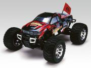 monster truck mta4 s50  rtr (rouge)