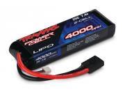 Traxxas TRX2841 accus li-po 7,4v 4000mah 2 elements 25c