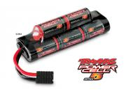 Traxxas 2963 accus power cell 9.6v ni-mh 8 elements 5000 mah (6+2)