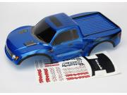 Traxxas TRX5814A body, ford raptor®, blue (painted, decals applied)