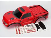 Traxxas 5814R carrosserie rouge peinte et decoree ford raptor