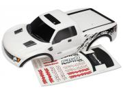 Traxxas 5814X  Body, Ford Raptor®, white (painted, decals applied)