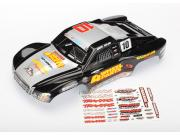 Traxxas 6818 carrosserie slash 4x4 greg adler peinte et decoree