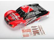 Traxxas 6825 carrosserie slash 4x4 mark jenkins n°25 peinte et decoree