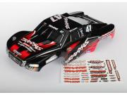 Traxxas 6826 carrosserie slash 4x4 mike jenkins n°47 peinte et decoree