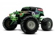 Traxxas 72024 grave digger - 4x2 - 1/16 brushed