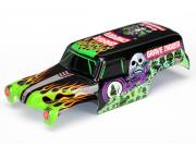 Traxxas 7280 body, 1/16th monster jam grave digger, officially licensed replica