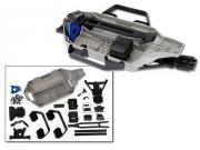 Traxxas 7421 kit de conversion low CG chassis pour Slash 4x4
