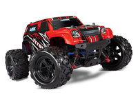 Latrax Teton 4x4 1/18 brushed Complet Rouge Traxxas