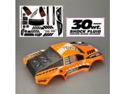 Thunder Tiger PD7508-O carrosserie peinte decoree orange - sparrowhawk dt12