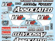 Team Associated 81305 decal sheet RC8B3e