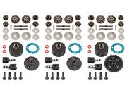 Team Associated 81361 v2 differential set RC8B3