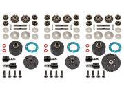 Team Associated 81362 v2 differential set RC8B3e