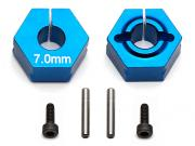 Team Associated 91610 clamping wheel hex 7.0mm b5m factory lite