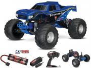 Traxxas Bigfoot 4x2 complet (1/10 brushed 2.4ghz - accus id) Traxxas