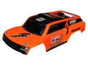Traxxas 5820A carrosserie peinte et decoree slash dakar gordini orange