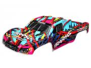 Traxxas 5849 carrosserie slash 4x4 hawaiian graphics peinte et decoree