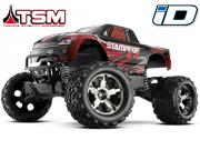 traxxas stampede 4x4 vxl brushless tsm (sans accus/chargeur)