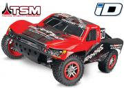 Traxxas Slash 4x4 1/10 brushless TSM TQi ID (Version sans accus / ni chargeur)