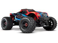 Traxxas 89076-4-REDX Traxxas Maxx 1/10 brushless TSM RedX version