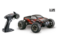 Voiture RC 1/16 Absima Spirit Monster noir/rouge complet Absima
