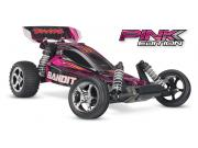 traxxas bandit pink brushed 1/10 2.4ghz