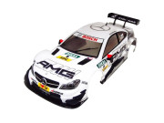 Carisma CA15339 Carrosserie CARISMA GT10RS MERCEDES-AMG C-COUPE DTM 2014 WHITE CAR BODY PAINTED 190mm